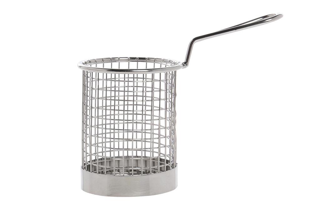 round fryer basket