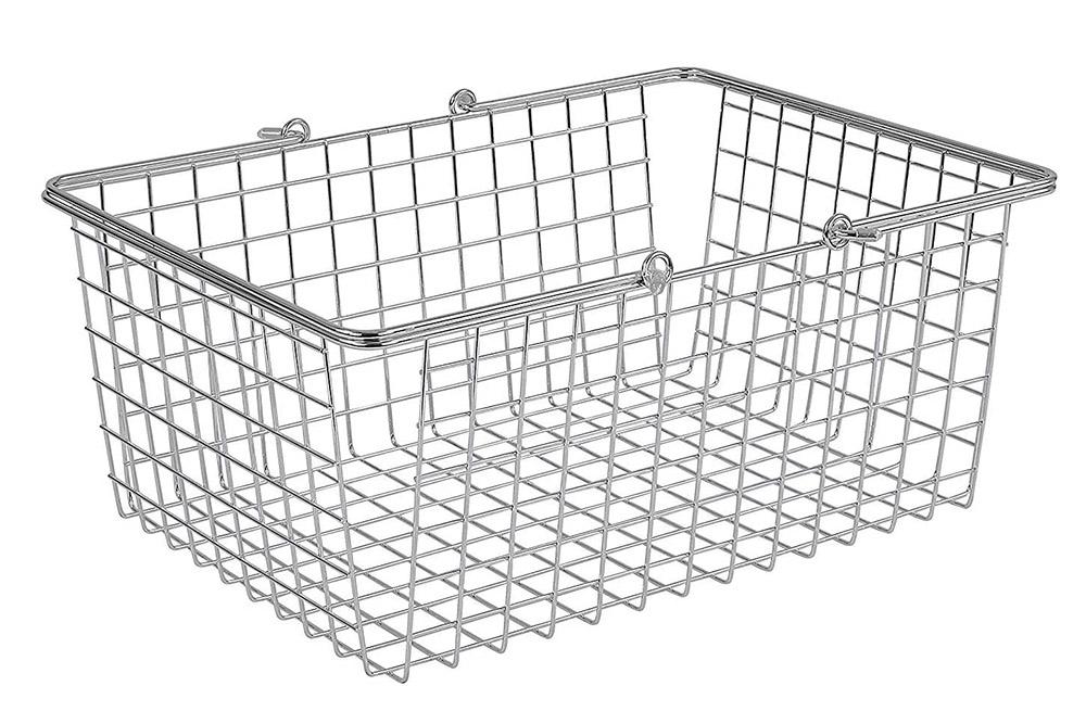 metal wire basket storage